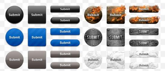 кнопки для сайта: